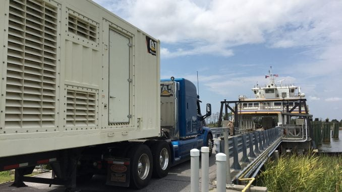 Power restoration for Hatteras, Ocracoke expected in 1-2 days