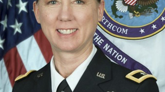 Army Division Female Commander - Laura Yeager