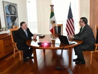 Mike Pompeo, Marcelo Ebrard, Mexico