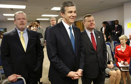Phil Berger, Roy Cooper, Tim Moore