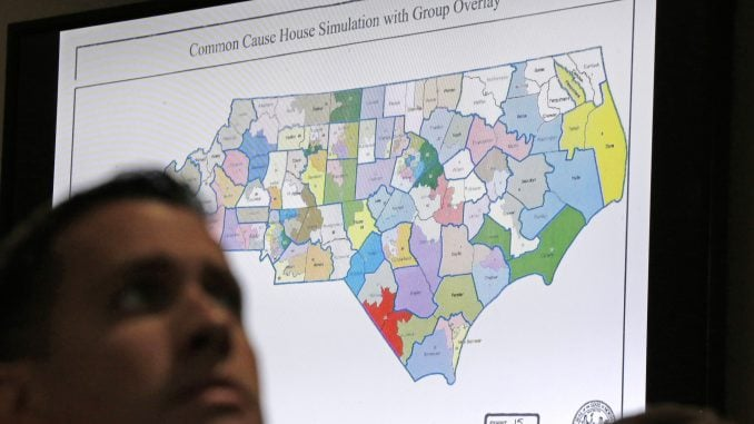 redistricting, common cause, ncga, partisan gerrymandering