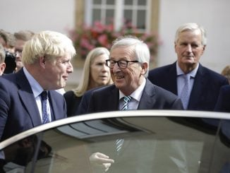 Brexit - Boris Johnson - Jean-Claude Juncker