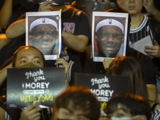 Hong Kong Protests Lebron James