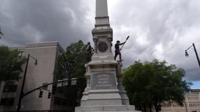 Monument to the Confederate Dead, Raleigh