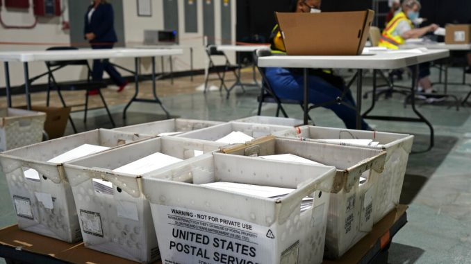 Trump campaign sues Philadelphia over mail-in voting offices