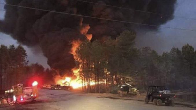 Courtesy Alabaster Fire Department—Reuters