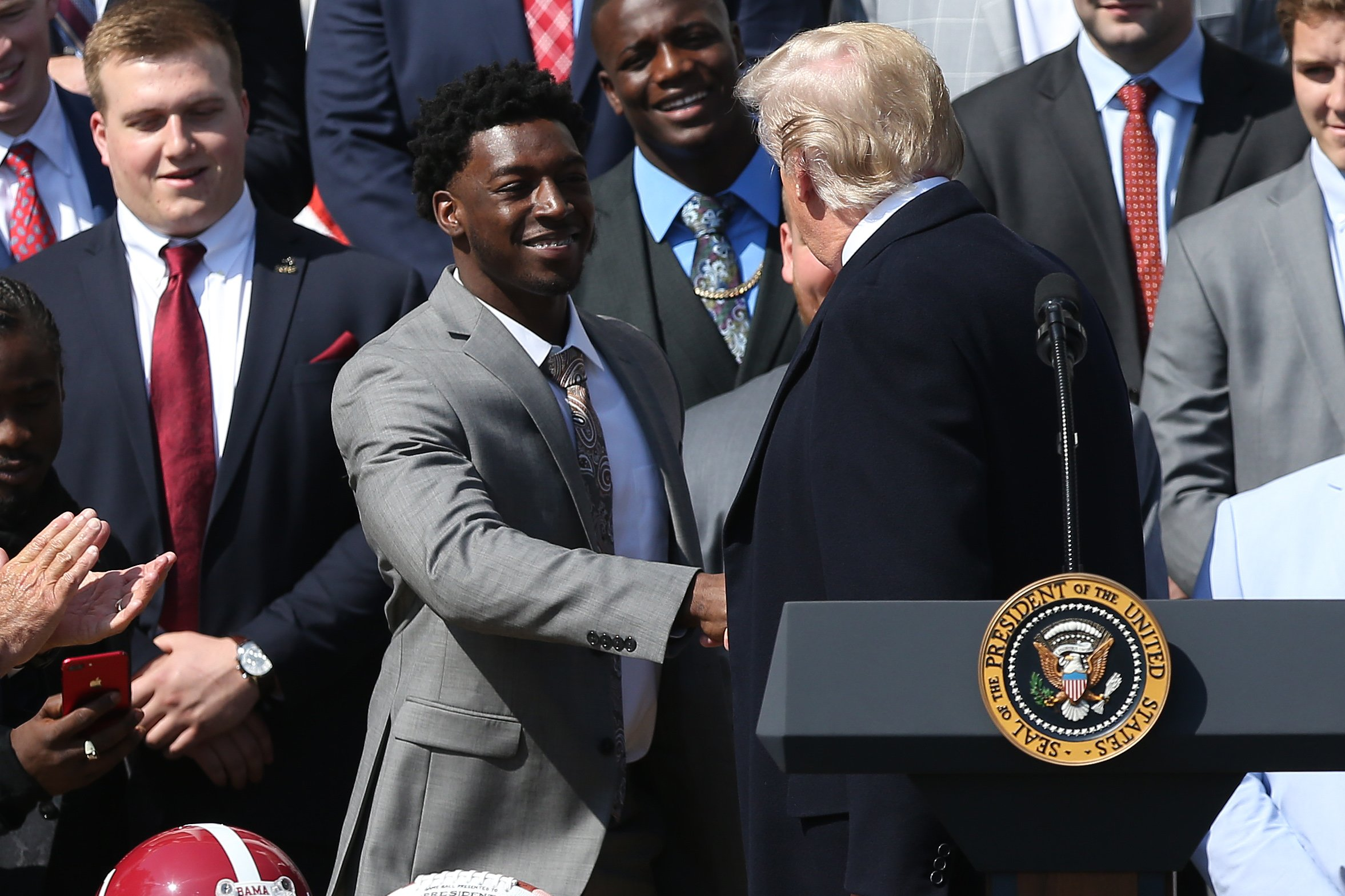 News: College Football Playoff Champions-Alabama White House Visit