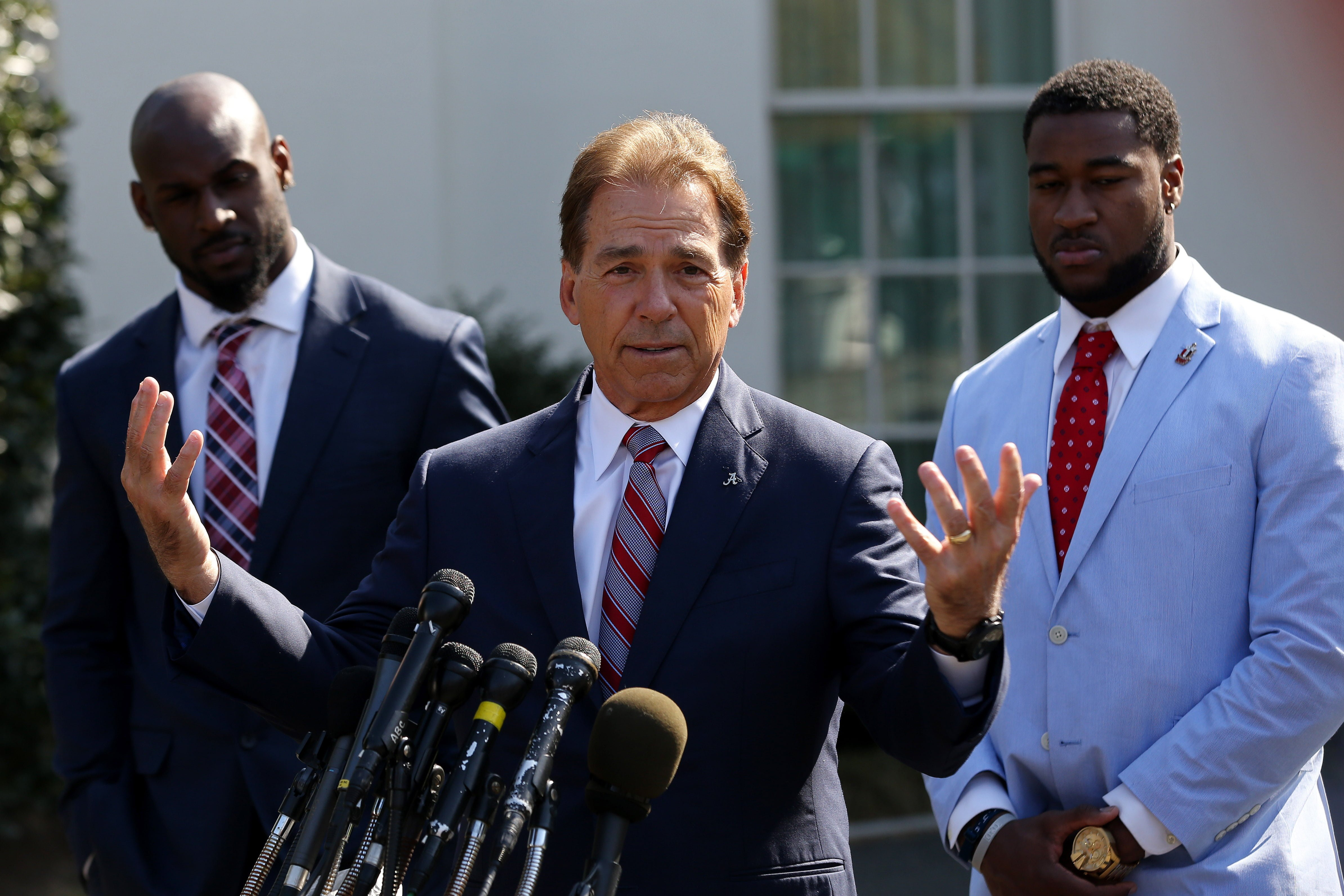 News: College Football Playoff Champions-Alabama White House
