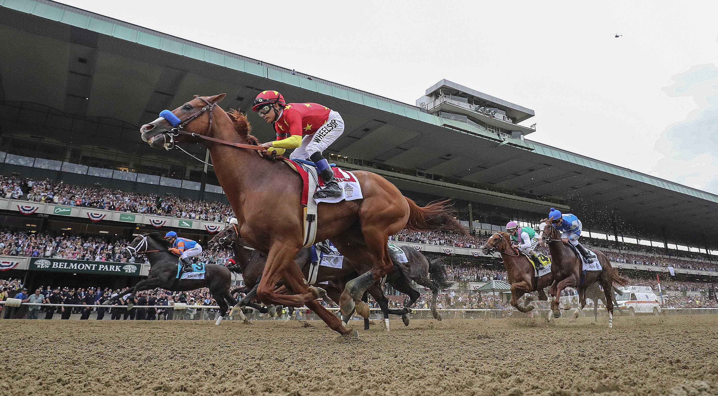 belmont stakes post positions 2020