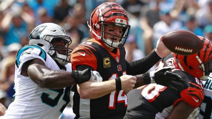 save off 154c1 61ed6 Panthers' Obada makes improbable NFL debut – The North State ...