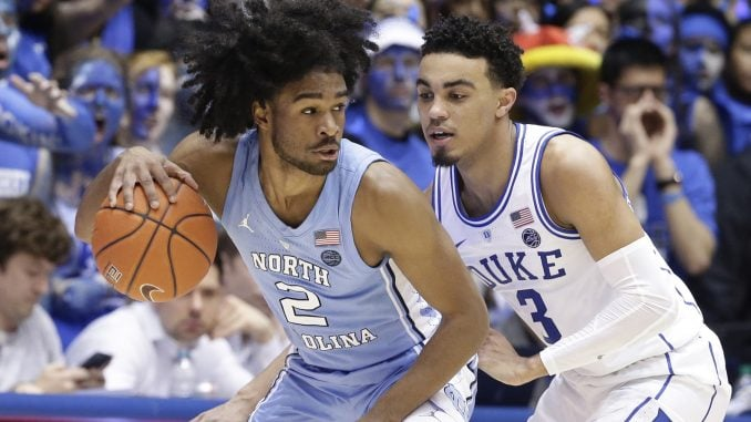 sports shoes c203e 173fb Coby White joining freshman teammate Nassir Little in NBA ...