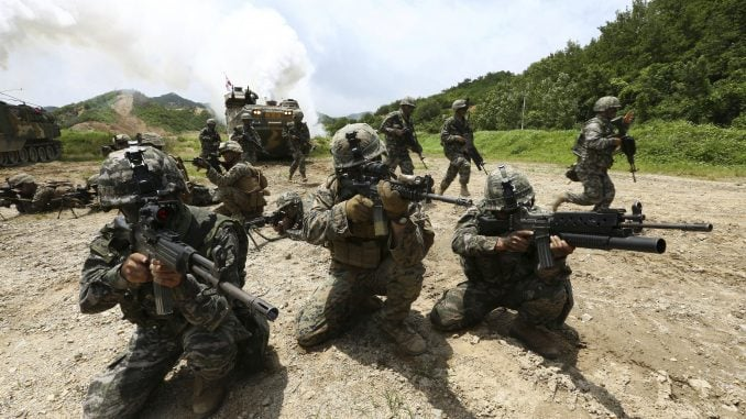 south korea - united states - military
