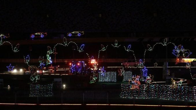 Concord Motor Speedway Christmas Lights 2020 Speedway Christmas returns for 10th season – The North State Journal