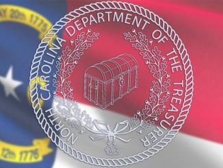 NC Treasurer flag-and-seal photo - NC State Treasurer website