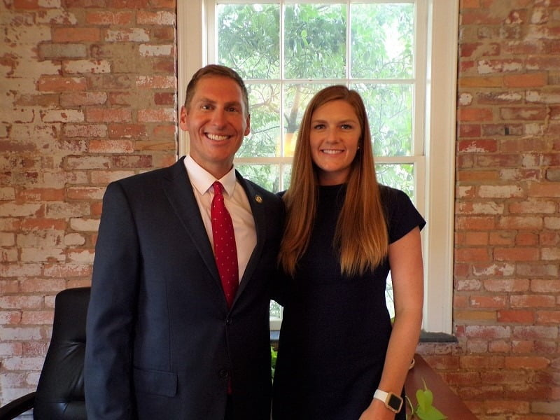 Jefferson and Katie Griffin – AP DILLON – July 31 2020