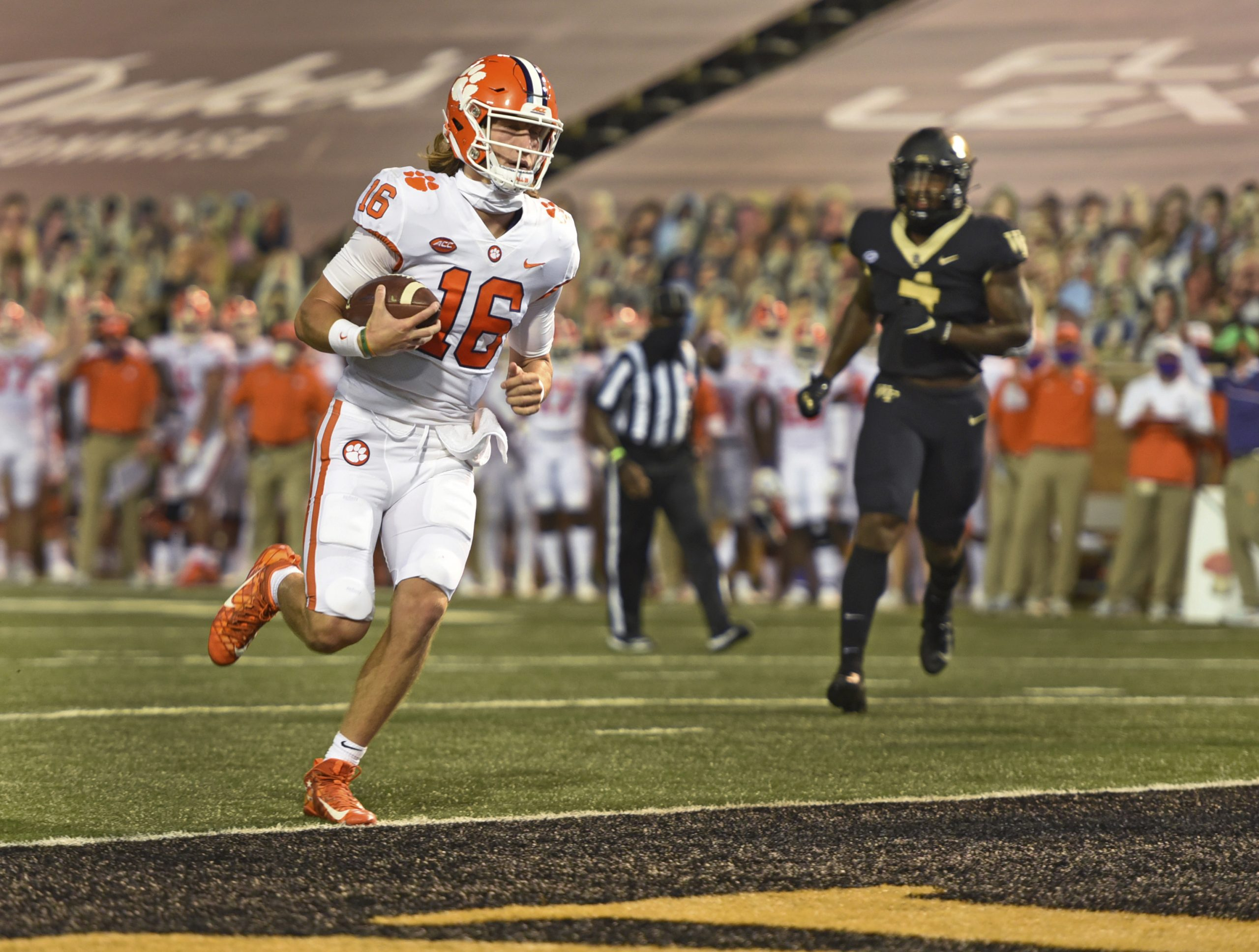 Lawrence, Clemson get the better of Wake Forest again – The North State  Journal