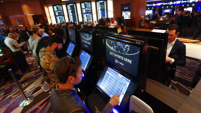 Sports betting starts Friday in Michigan