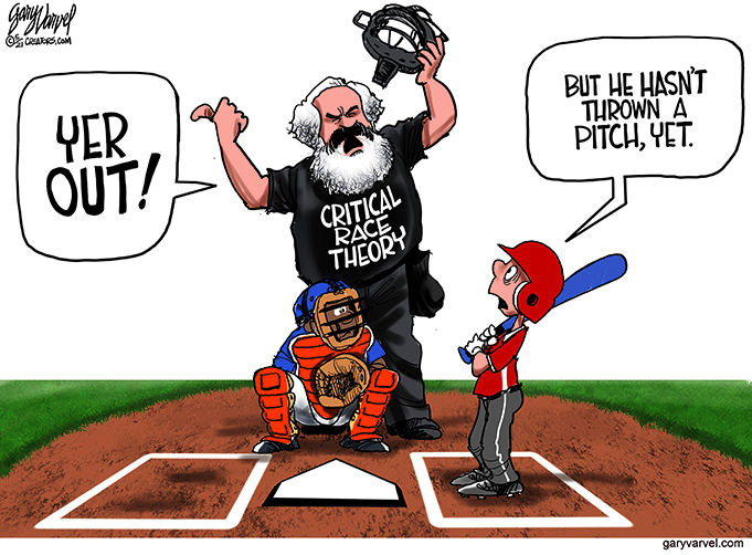 Editorial Cartoon — Critical Race Theory – The North State Journal